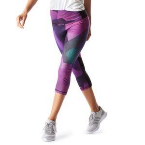 Lucy- Purple Om Capri Pants